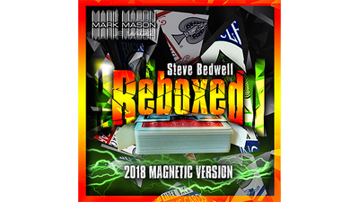 Reboxed 2018 Magnetic Version  (Gimmicks and Online Instructions) by Steve Bedwell and Mark Mason