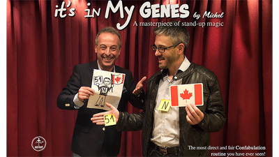 It's in My Genes (Gimmicks and Online Instructions) by Michel