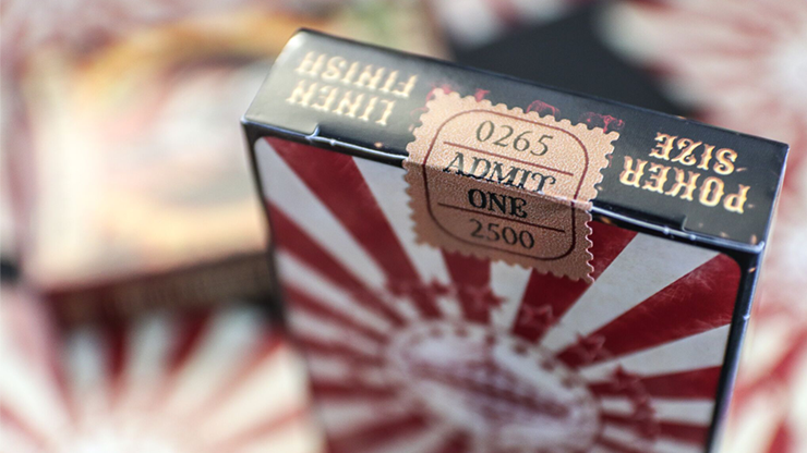 Limited Edition Nostalgic Circus Playing Cards