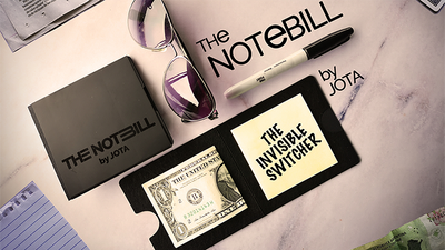The NOTEBILL (Gimmick and Online Instructions) by JOTA