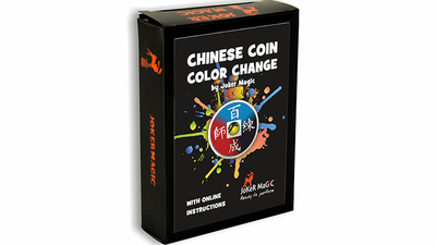 Chinese Coin Color Change (Gimmicks and Online Instructions) by Joker Magic