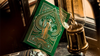 Limited Edition Green Tycoon Playing Cards by theory11