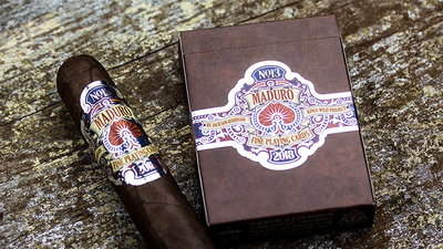 Maduro Silver Edition Playing Cards by Kings Wild Project