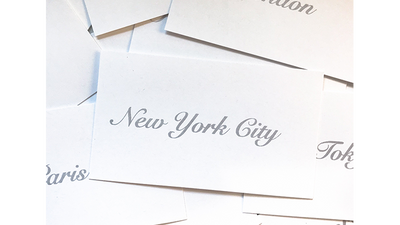 Appearing Business Cards (City Pack) by Sam Gherman