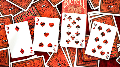 Limited Edition Bicycle Ladybug (Red) Playing Cards