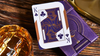 Limited Edition Violet Luna Moon Playing Card by Bocopo
