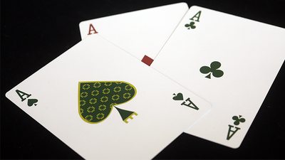 Expert At The Card Table (White) Playing Cards