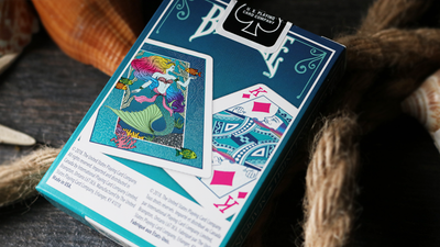 Mermaid Playing Cards by US Playing Card Co