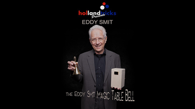 Holland Tricks Presents The Eddy Smit Magic Table Bell Limited Edition (Gimmick and Online Instructions)