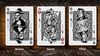Blood and Beast (Silver) Playing Cards