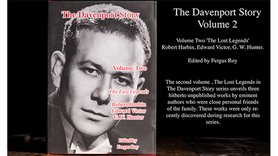 The Davenport Story Volume 2 The Lost Legends by Fergus Roy