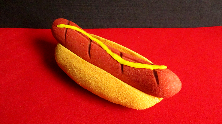 Hot Dog with Mustard by Alexander May