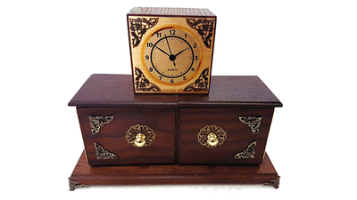 Antique Clock Box by Tora Magic