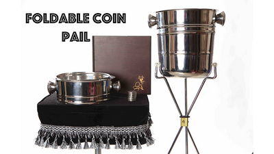 Foldable Coin Pail by Victor Voitko (Gimmick and Online Instructions)