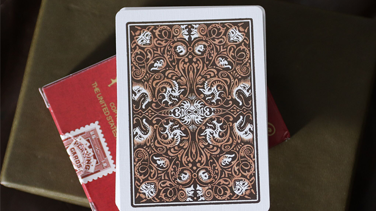 Limited Edition Late 19th Century Vanity Creature Playing Cards