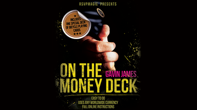 On the Money (Gimmick and Online Instructions) by Gavin James