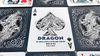 Bicycle Dragon Playing Cards (Blue) by USPCC