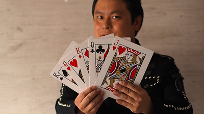 Jumbo Princess Card Trick by Tejinaya Magic