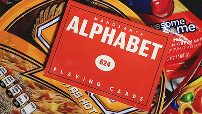 Alphabet Playing Cards