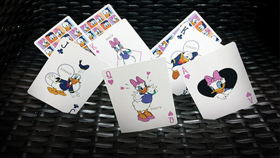 Donald and Daisy Playing Cards