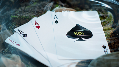 Koi V2 Playing Cards by Byron Lueng