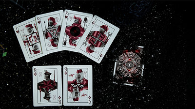 Elemental Master Red Edition Playing Cards by TCC