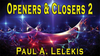 Openers & Closers 2 by Paul A. Lelekis Mixed Media DOWNLOAD