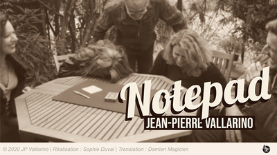 The Notepad (Gimmicks and Online Instructions) by Jean-Pierre Vallarino