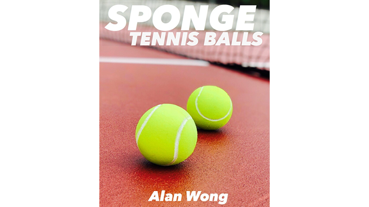 Sponge Tennis Balls (3 pk.) by Alan Wong
