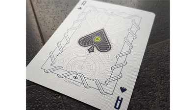 White Monolith Playing Cards by Giovanni Meroni