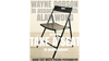 Take A Seat (Gimmicks and Instructions) by Wayne Dobson and Alan Wong