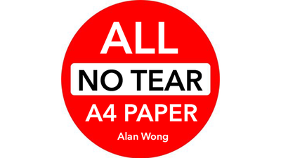 No Tear Pad (Extra Large, A4) ALL No Tear by Alan Wong