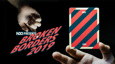 Broken Boarders 2019 Playing Cards by The New Deck Order