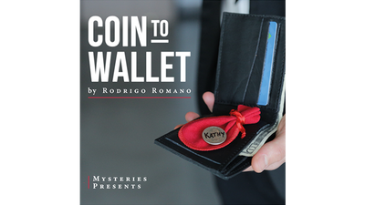 Coin to Wallet (Gimmicks and Online Instructions) by Rodrigo Romano and Mysteries