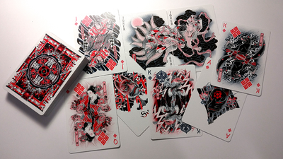 Sumi Kitsune Tale Teller Playing Cards by Card Experiment