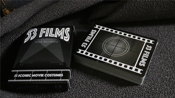 53 Films Playing Cards by Mark Shortland