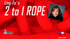 2 to 1 Rope by Aprendemagia