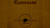 CARDBOARD The Book by Patrick G. Redford
