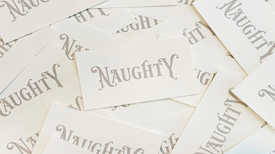 Appearing Business Cards (Naughty Pack) by Sam Gherman