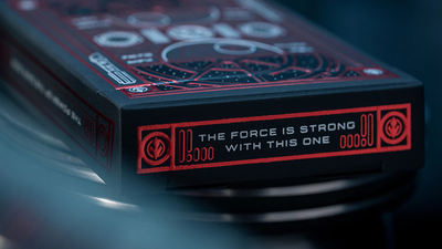 Star Wars Dark Side (RED) Playing Cards by Theory 11