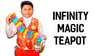 Infinity Tea Pot by 7 MAGIC