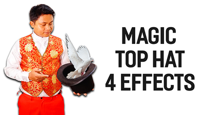Magic Top Hat (4 effect) by 7 MAGIC