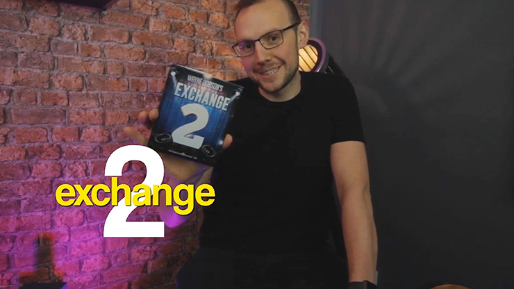 Waynes Exchange 2 (Gimmick and Online Instructions) by Wayne Dobson and Alakazam Magic