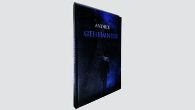 GEHEIMNISSE (Hardcover) Book and Gimmicks by Andreu
