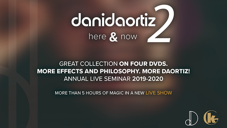 Here & Now 2 (4 DVD Set) by Dani DaOrtiz