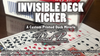 Invisible Deck Kicker (Gimmicks and Online Instructions) by David Penn