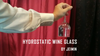 Hydrostatic Wine Glass by Jeimin