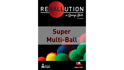 Super Multi Ball (Gimmicks and Online Instructions) by GABRIEL GASCON and Aprendemagia