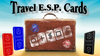 Travel ESP Cards Blue & Red (Gimmicks and Online Instructions) by Paul Carnazzo