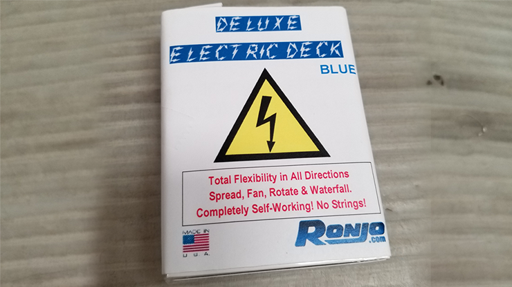 ELECTRIC DECK DELUXE - TETRA 4 COLOR FANNING by Ronjo
